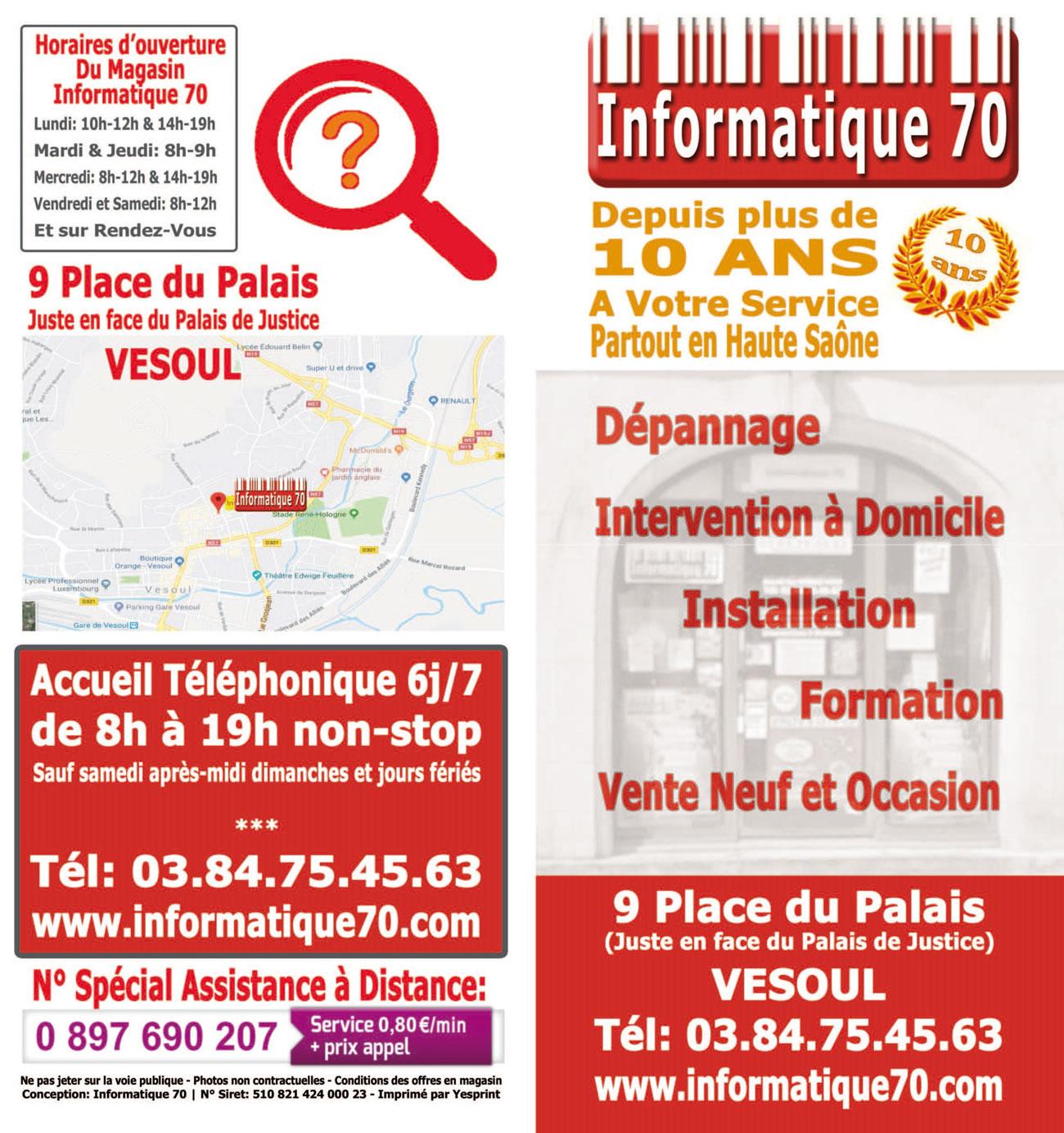 Informatique 70
